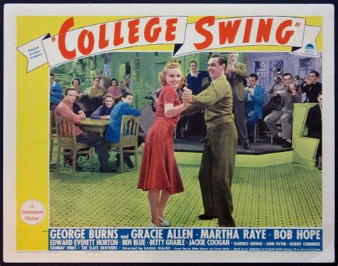 college swing college swing movie poster 1938 college swing images