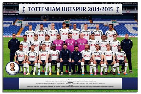tottenham hotspur 2015 16 team photo poster iposters football soccer posters tottenham hotspur team photo 2014 2015 poster iposters
