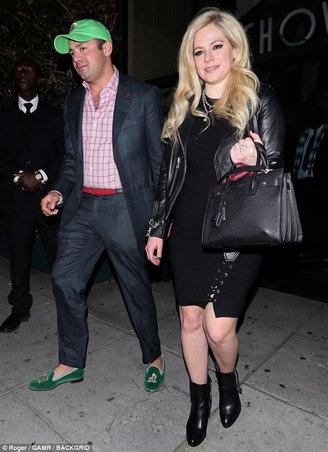 33 Year Old Fashion For Business Dinner   avril lavigne stuns in little black dress while in beverly