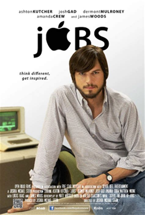 film poster design jobs jobs 2013 trailer is here steve jobs biopic movie
