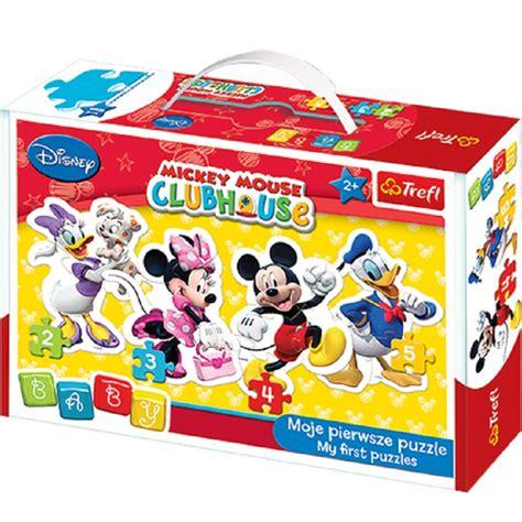 Puzzle Mickey Mouse Club puzzle disney baby 4 en 1 224 partir de 2 ans puzzles avec mickey minnie donald et