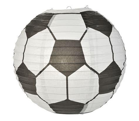 How To Make Paper Lantern Balls - soccer paper lantern