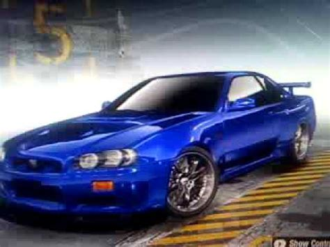 blue nissan skyline fast and furious brians blue nissan skyline from the fourth fast and