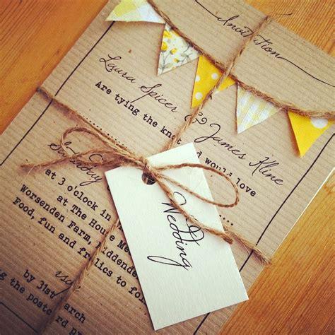 bunting wedding invitations 15 beautiful shabby chic wedding invitations the shabby