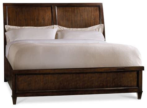 Modern Sleigh Bed Wonderful Modern Sleigh Bed With Furniture Ludlow King Sleigh Bed Brown