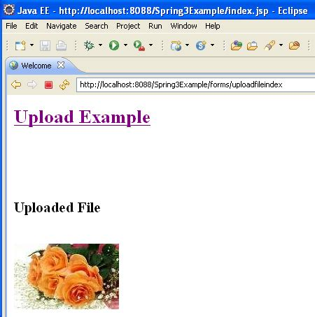 html tutorial upload file spring 3 mvc file upload spring mvc file upload 刺猬的温驯 博客园