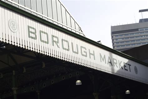 borough market sign guide to borough market