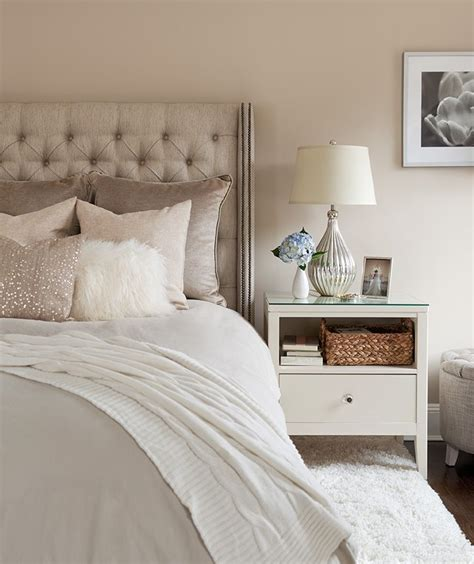 neutral bedroom the elegant abode li bedroom tufted headboard sequin