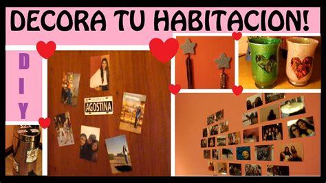 decorar cuarto de bienvenida diyღ decora tu habitacion con ideas faciles youtube