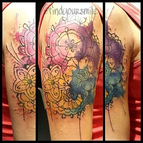watercolor tattoos mandala watercolor sorry for the spot watercolor