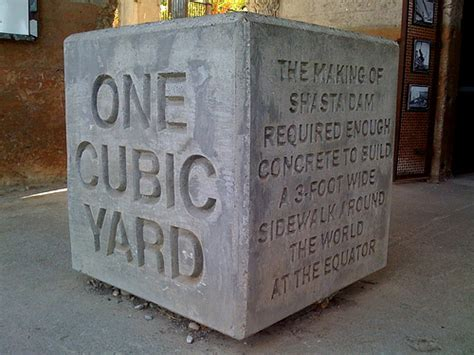 How Many Cubic In A Cubic Yard One Cubic Yard Taken At The Former Kutras Tract