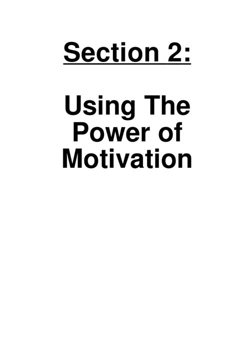 Cd The Power Of Motivation power of motivation