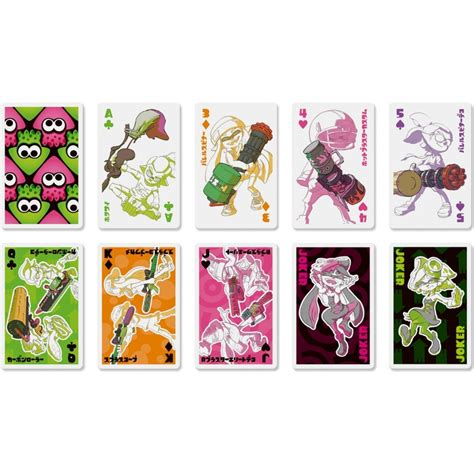 these splatoon playing cards are a deal you cannot afford to miss nintendo life these splatoon playing cards are a deal you cannot afford to miss nintendo life