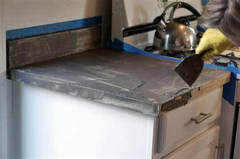 Diy Concrete Countertops Laminate by Lovely Imperfection Diy Concrete Countertops