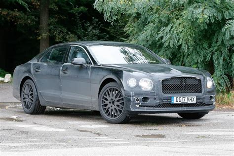 next gen bentley flying spur spy shots gtspirit