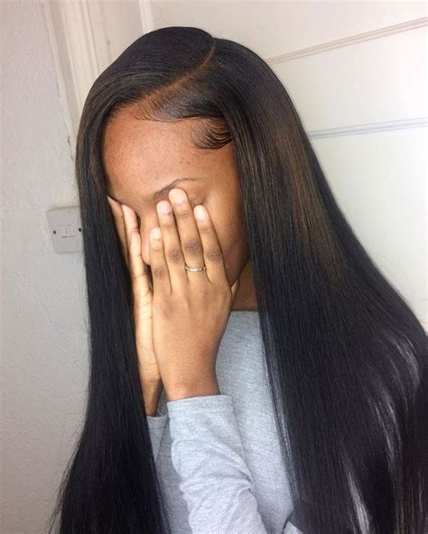 hair do with sew in weave with a part in the middle best 25 sew in weave ideas on pinterest sew in weave