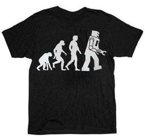 robot evolution shirt ebay