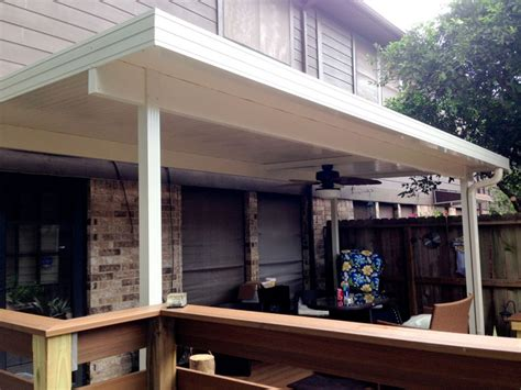 Free Standing Patio Cover by Free Standing Aluminum Patio Cover In Clear Lake Tx 187 A 1