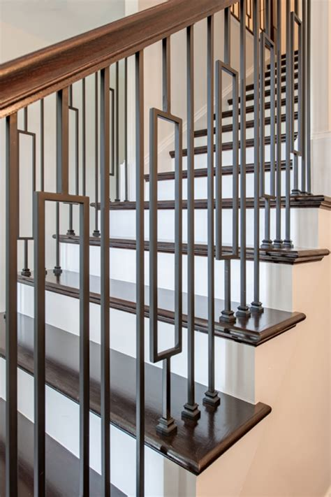 lih holpla plain bar baluster wood stair hollow iron