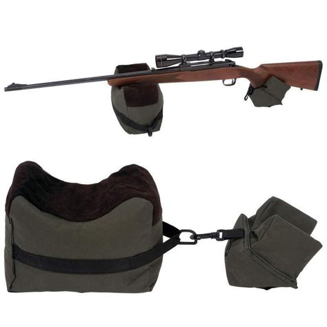 rifle bench rest bags portable shooting front rear bench rest bags gun rest
