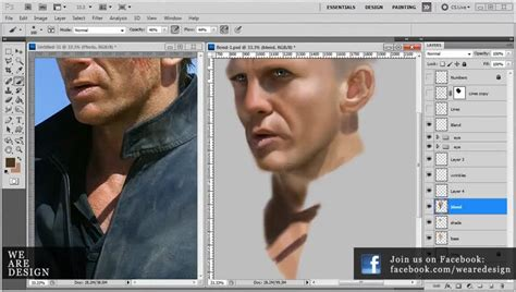 photoshop tutorial james bond تخته سفید in depth photoshop painting tutorial daniel