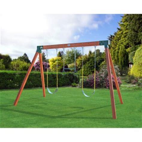 a frame swing set eastern jungle gym classic a frame cedar swing set with
