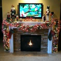 image of christmas mantle with nutcracker nutcracker mantle mantles and nutcrackers