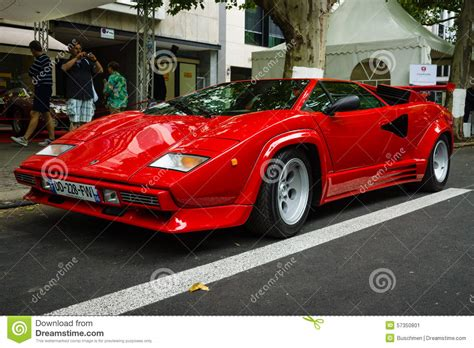 voiture de sport lamborghini voiture de sport de luxe lamborghini countach 5000