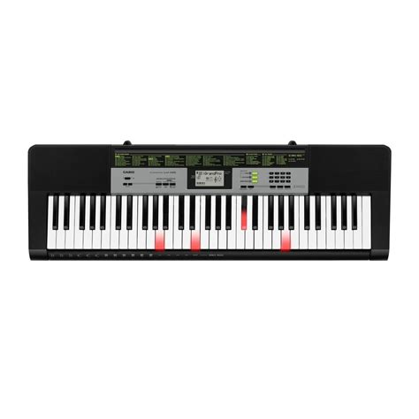 casio lk 135 portable keylighting keyboard black at gear4music