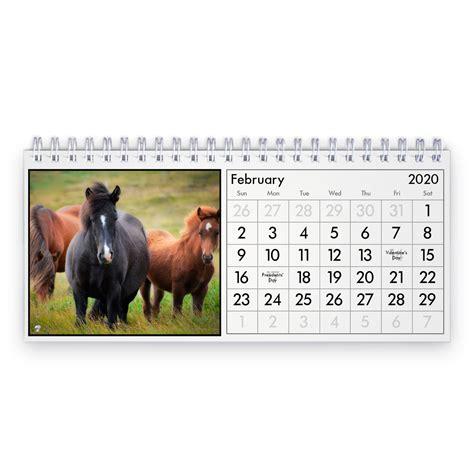 cheval  calendrier de bureau