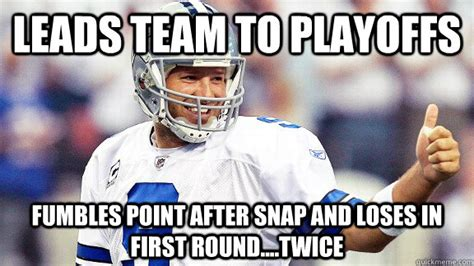 Tony Romo Interception Meme - tony romo funny memes memes