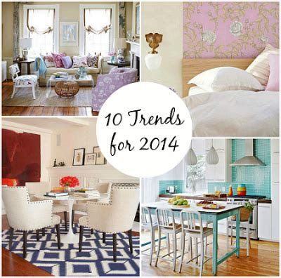 home decor 2014 decorating trends