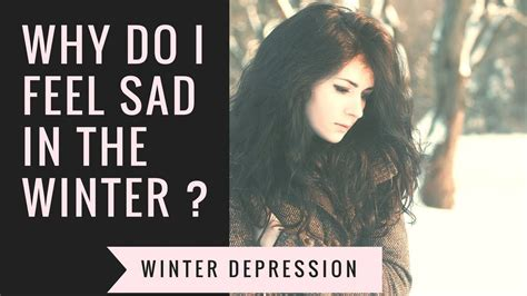 l for winter depression a lot of people suffer from winter depression this is