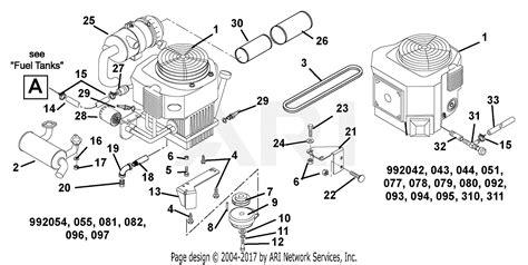 gravely   pmz hp kohler  deck hyd lift eye  parts diagram