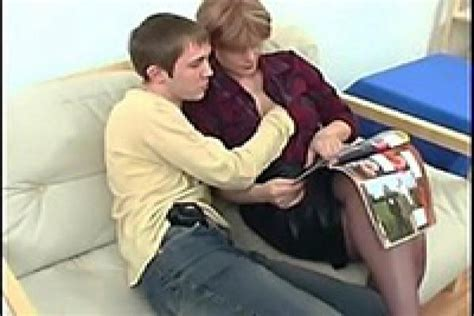 mature mom wasn t surprised when naughty boy grabbed her