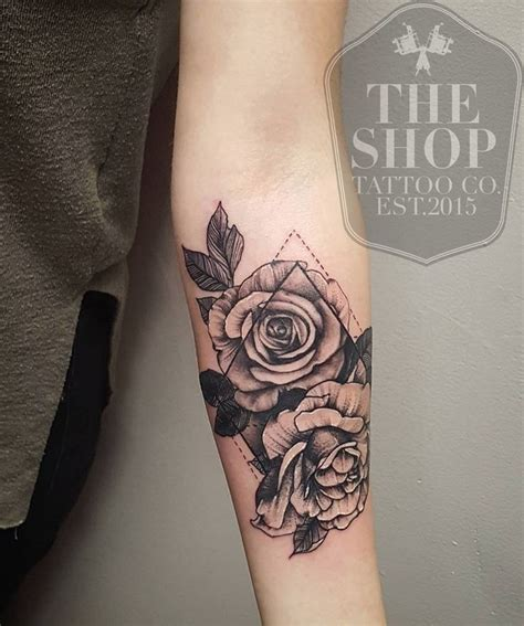 best tattoo shops in delaware 27 best simple geometric flower designs forearm