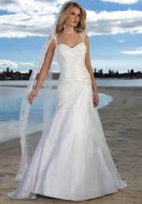 Handmade classic beach bridal gown wedding dress be026