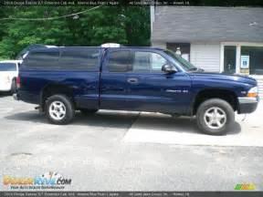 2000 Dodge Dakota Extended Cab 2000 Dodge Dakota Slt Extended Cab 4x4 Blue Pearl