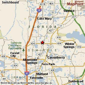 map longwood florida longwood florida