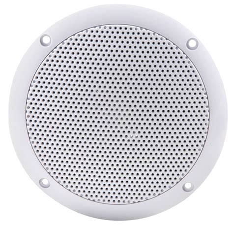 Speakers Ceiling by 6 5 Quot Two Way Ip35 Water Resistant Ceiling Speakers