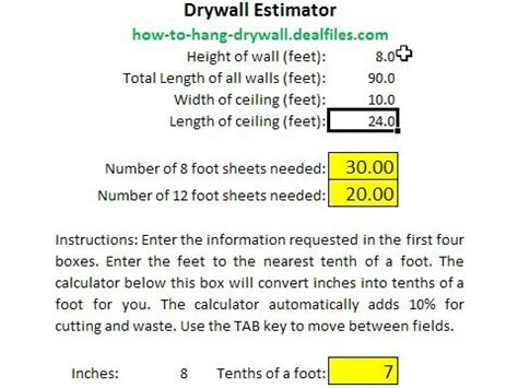 drywall bid template drywall estimate template