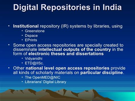 national digital library of theses and dissertations digital libraries the process initiatives and
