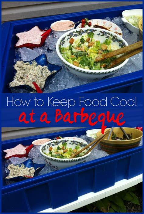 Keep Your Cing Food Cool by How To Keep Food Cool At Barbeque S Even When It Is