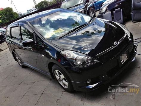 toyota ww wald ww toyota wish 2004 1 8 in kedah automatic mpv black