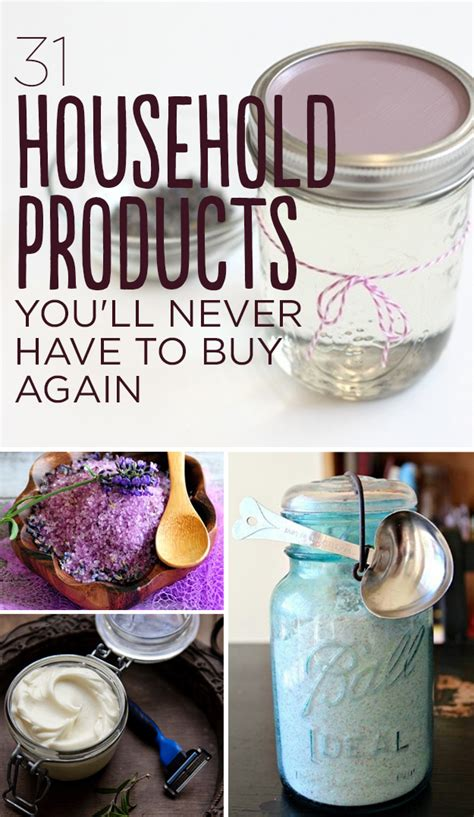easy diy crafts with household items 31 household products you ll never to buy again