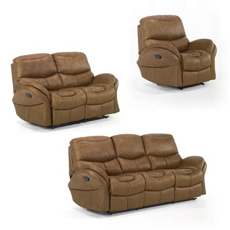 Sofa And Recliner Set Idaho Reclining Sofa Set Whiskey Sofa Sets