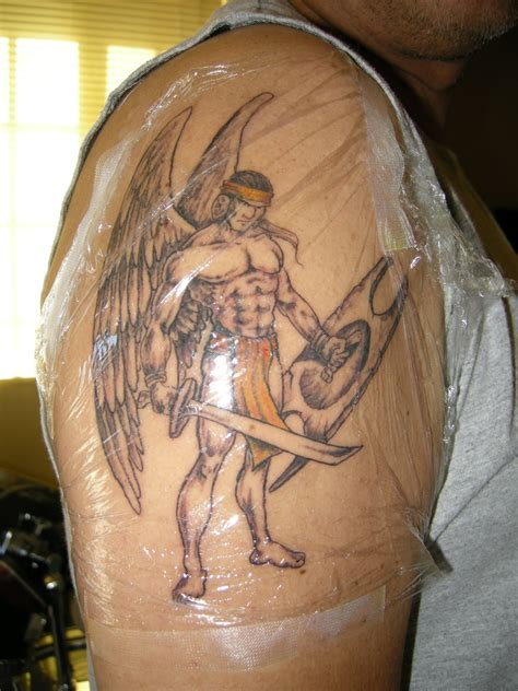 warrior angel tattoo designs warrior tattoos design ideas pictures gallery