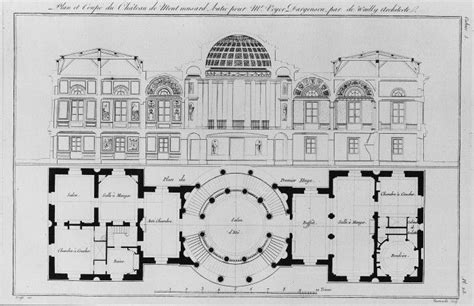 Chateau Plans by Classical Architecture Architectural Illustrations