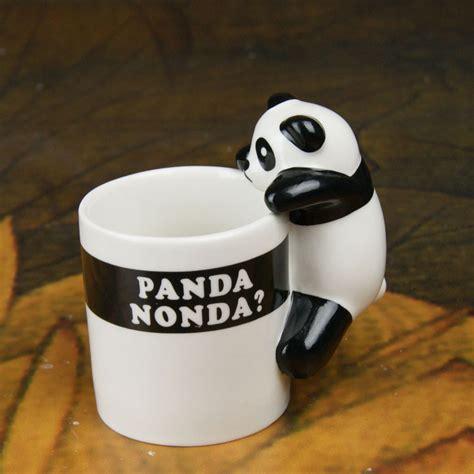 coffee mug handle lovely panda ceramic milk mug creative coffee cup with