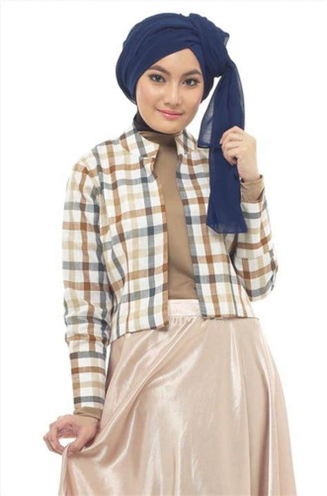 Baju Muslim Wanita Aline blazer cantik khusus hijabers co id